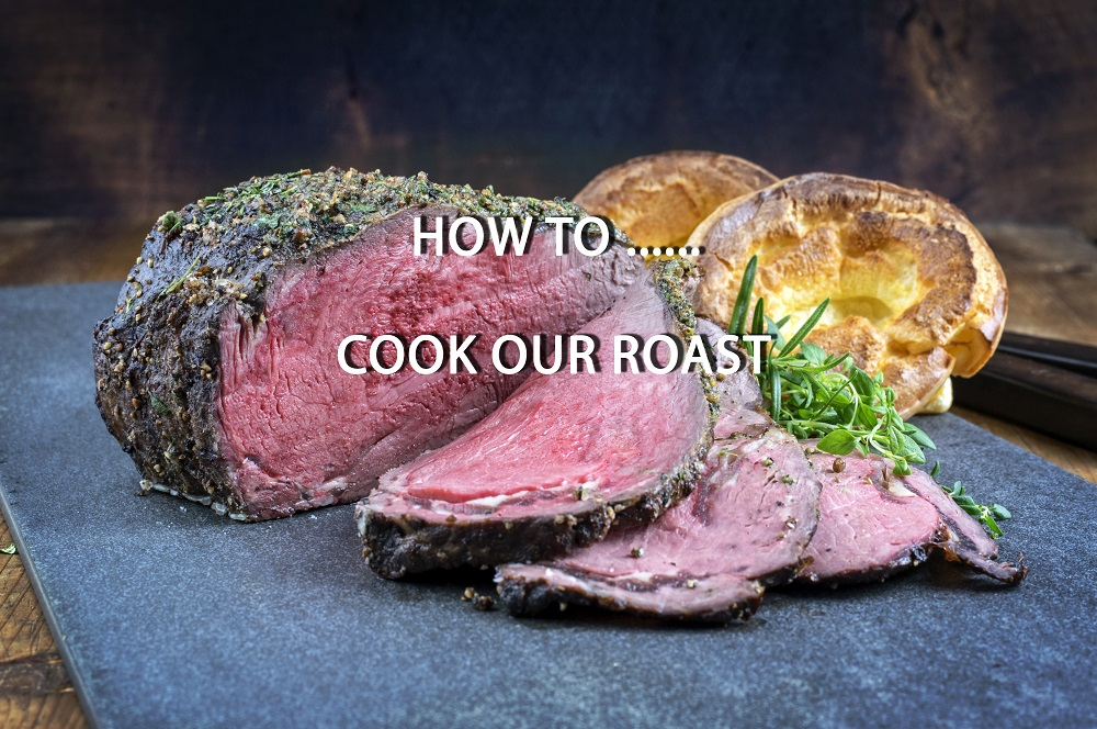 How to cook our Roasting Joints